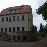 Waldschänke in Hellerau vom Moritzburger Weg aus