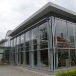 Das neue Gebäude der Deutschen Werkstätten Hellerau