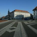 Innenstadt von Dresden