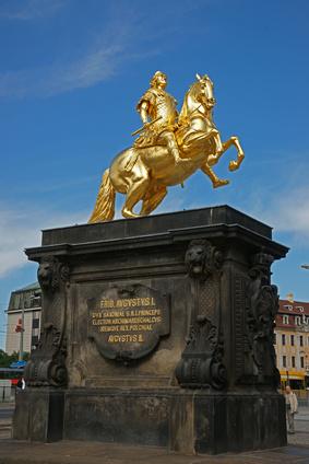 """Stadtbesichtigung Dresden - """"Goldener Reiter"""""""