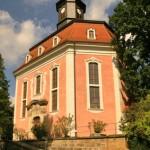 Loschwitz Kirche von George Bähr - Stadtrundfahrt-Bus