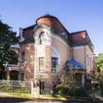 Die Villa Elbblick, im Roman Der Turm das Italienische Haus