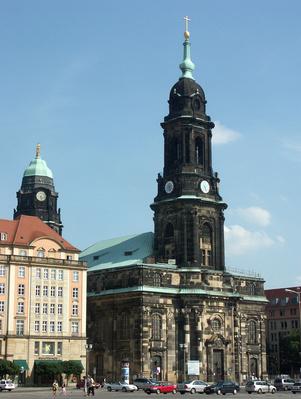Die Kreuzkirche Stadtbesichtigung Dresden