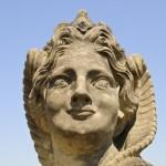 Sphinx, Barockgarten Großsedlitz, Heidenau, Sachsen, Deutschlan