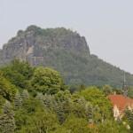 Der Lilienstein (415 m)